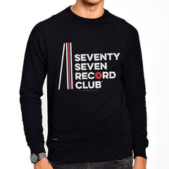 Record Club Crew Sweat - Black