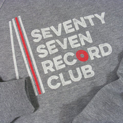 Record Club Crew Sweat - Grey Heather