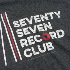 Record Club t-shirt - Charcoal Heather