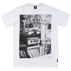 Record Store t-shirt - White