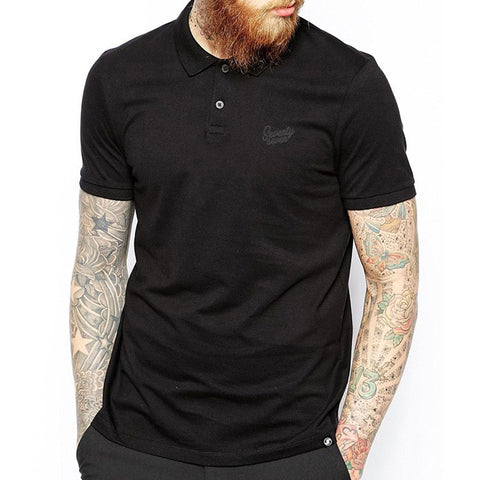 Signature Polo shirt - Black