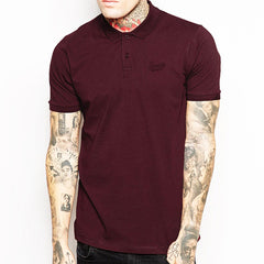 Signature Polo shirt - Claret
