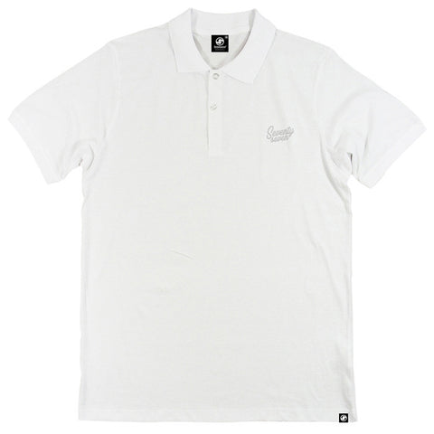 Signature Polo shirt - White