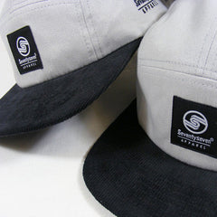 Limited Edition 5 Panel Cap - Silver/Black