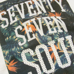 Tropical Soul t-shirt - Vintage White Slub