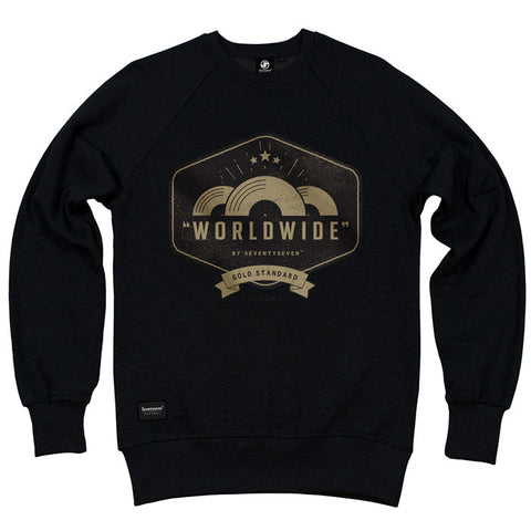 Worldwide Crew Sweat - Black