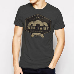 Worldwide t-shirt - Charcoal Heather