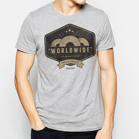 Worldwide t-shirt - Grey Heather