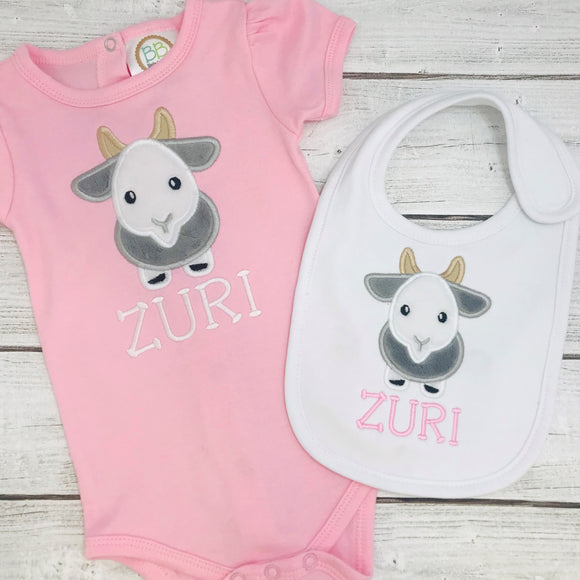 Baby Girl Goat Mini Gift Set