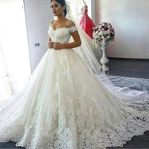 Dubai Vintage Unique Lave Wedding Dresses Plus Size Bridal Gowns Sweetheart  Off Shoulder Elegant Wedding Dress Vestidos De Novia