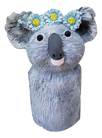 Koala Bear with Daisy Chain