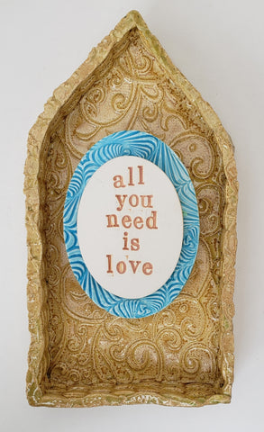 All You Need is Love House - Artworks by Karen Fincannon