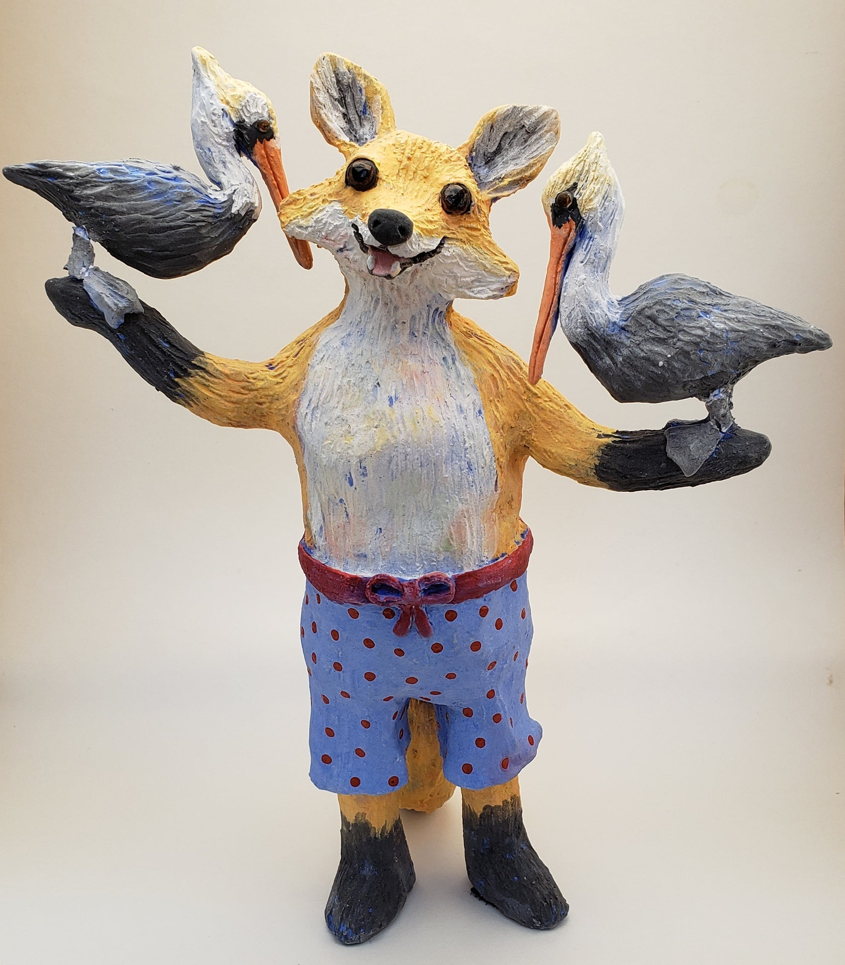 What the Fox? with Pelican Friends Vintage Swimmer