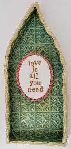Love is All You Need House - Artworks by Karen Fincannon