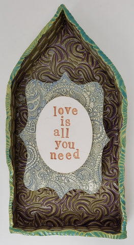 Love is All You Need Beatles House - Artworks by Karen Fincannon
