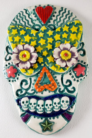 Day of the Dead Skull - Artworks by Karen Fincannon