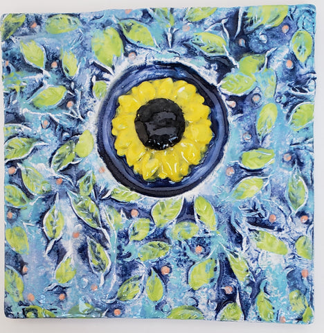 Sunflower 4x4 Ceramic Tile