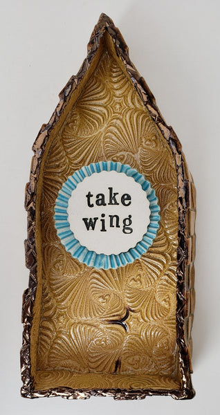 """Take Wing"" House - Artworks by Karen Fincannon"