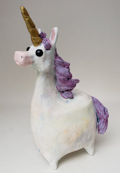 Eunice the Unicorn - Artworks by Karen Fincannon