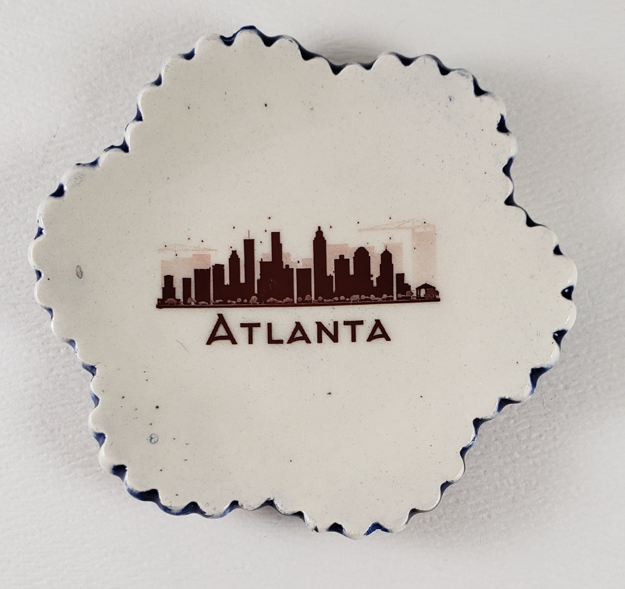 Tiny Plate with Atlanta skyline