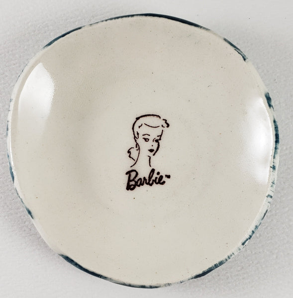 Tiny Plate with Barbie