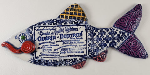 Chocolate Label Fish