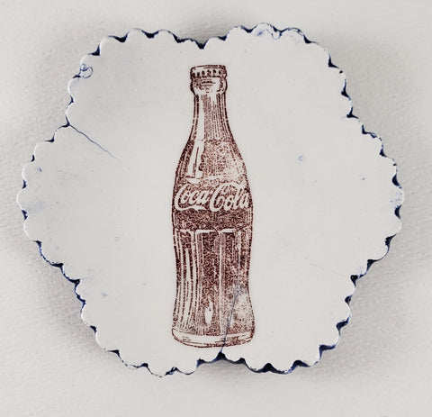 Tiny Plate with bottle of Coke