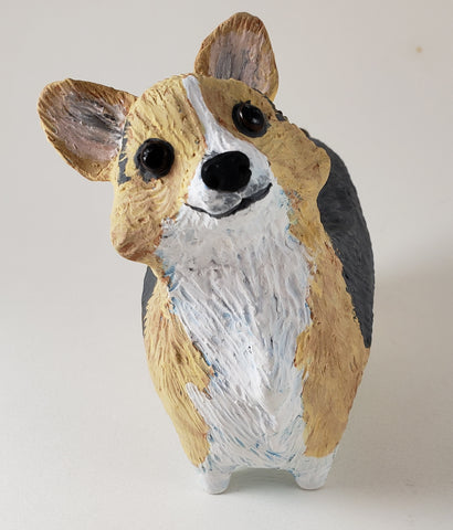 Trixie the Tri-Colored Corgi - Artworks by Karen Fincannon