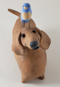 Wendy Wiener the Dachshund - Artworks by Karen Fincannon