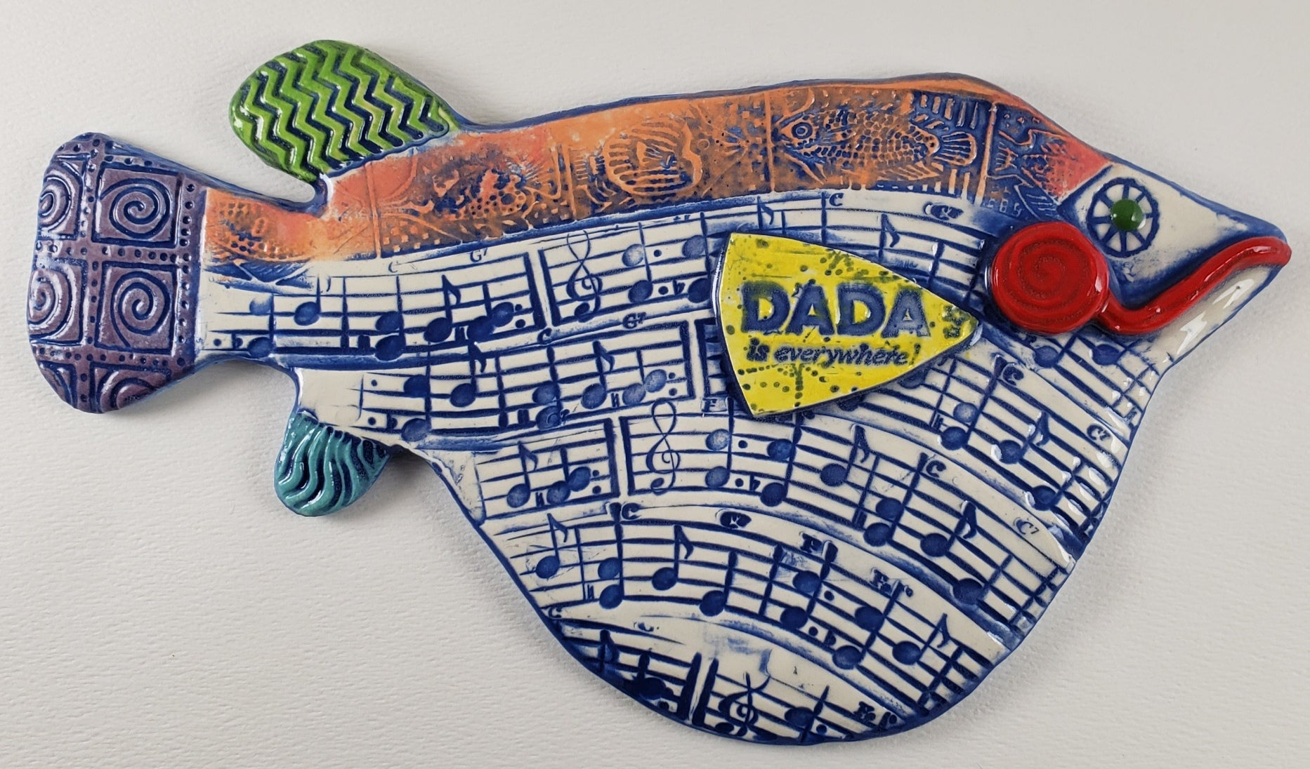 Dada is Everywhere Fish
