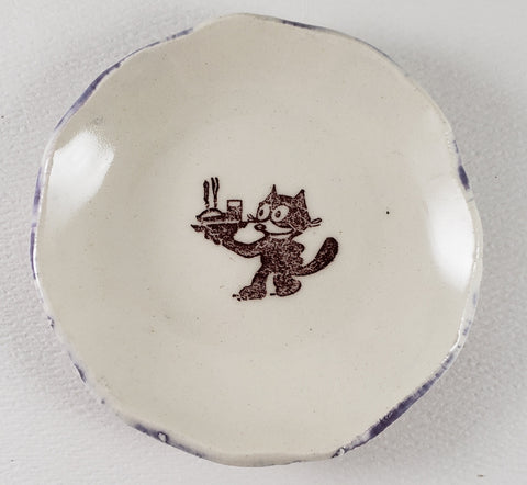 Tiny Plate with Felix the Cat
