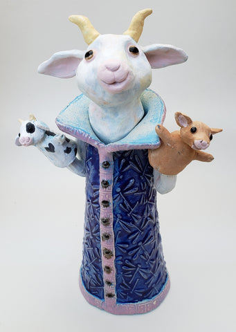 Get Your Goat! Sculpture - Artworks by Karen Fincannon