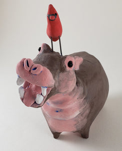 Horatio the Hippo - Artworks by Karen Fincannon