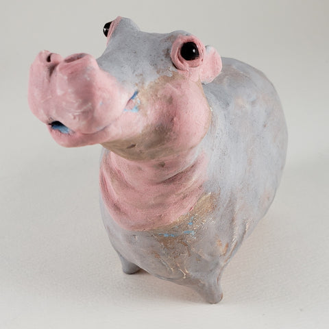 Hieronymous the Hippo - Artworks by Karen Fincannon