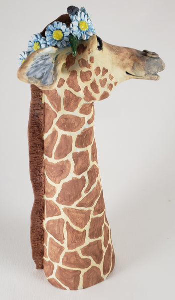 Geoffrey the Giraffe - Artworks by Karen Fincannon