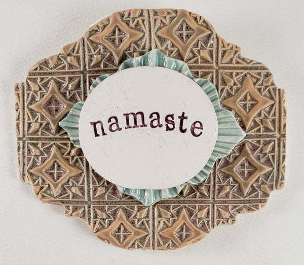 Namaste Word Plaque
