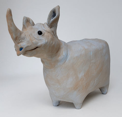 Tina the Rhino - Artworks by Karen Fincannon