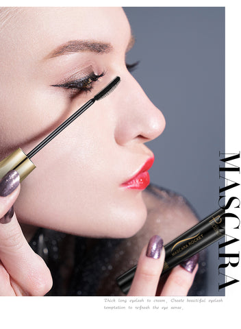 4D SILK FIBER LASH MASCARA - WATERPROOF
