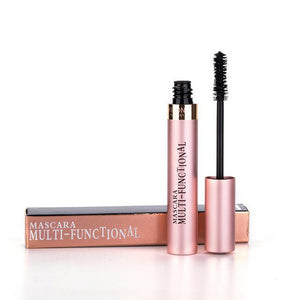 Makeup 4D Silk Fiber Lash Mascara Waterproof Rimel Mascara Eyelash Extension Black Thick Lengthening Eye Lashes Cosmetics