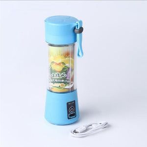 USB Charger Cable Portable Juice Blender Mixer