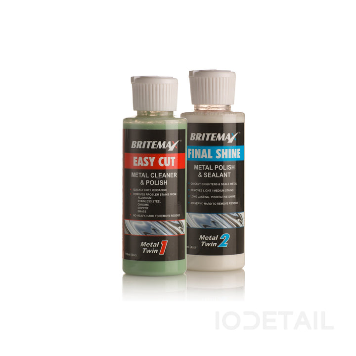 Britemax Metal Polish Twins Kit - (118ml) Small