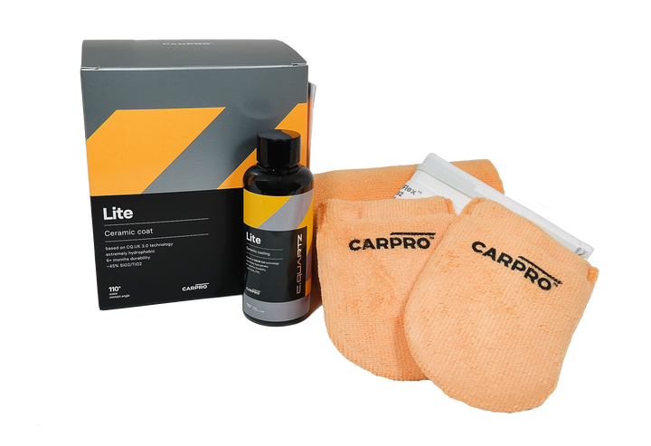 CarPro CQuartz Lite Kit - Entry level ceramic coatingl