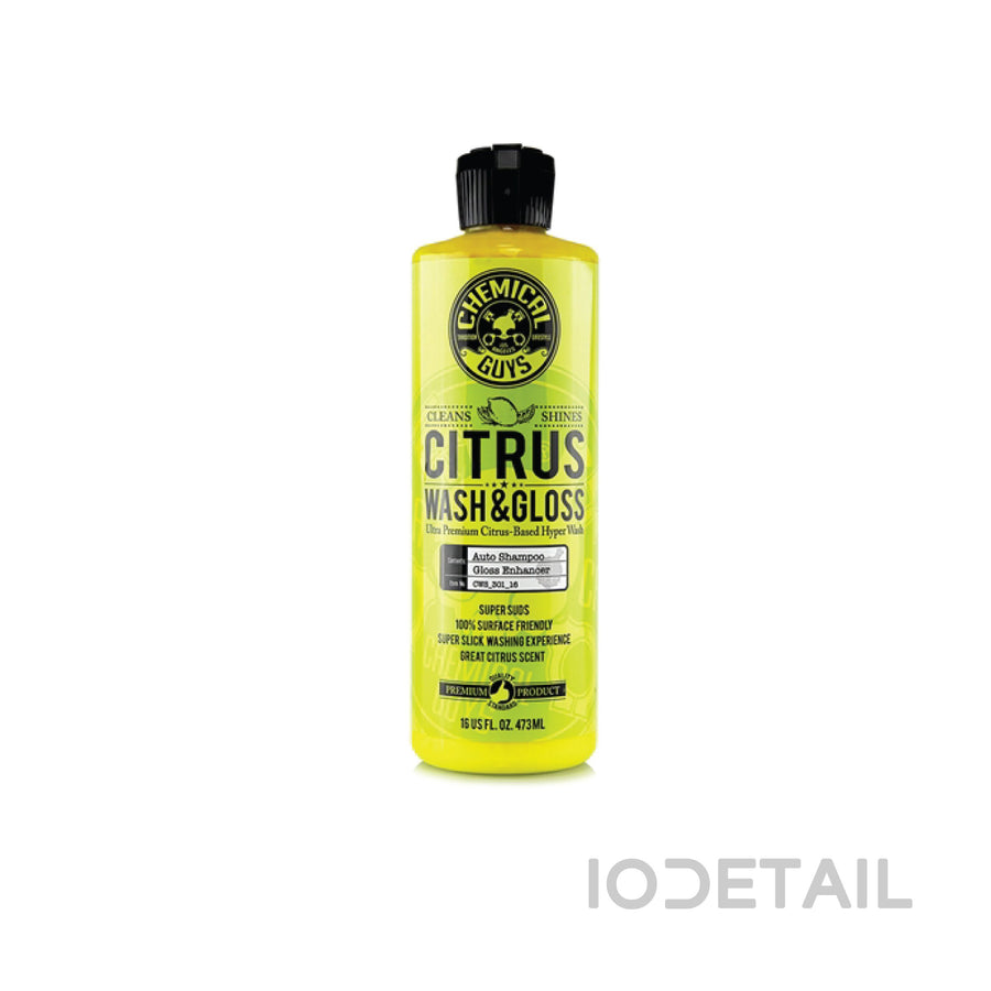CHEMICAL GUYS, CITRUS WASH & GLOSS CONCENTRATED CAR WASH