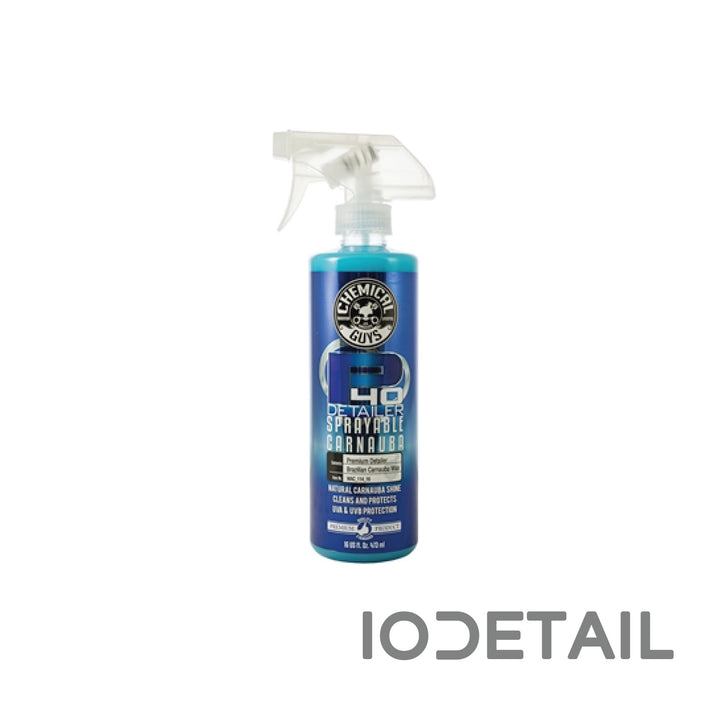 Chemical Guys Detailer & Spray White Carnauba Detailer
