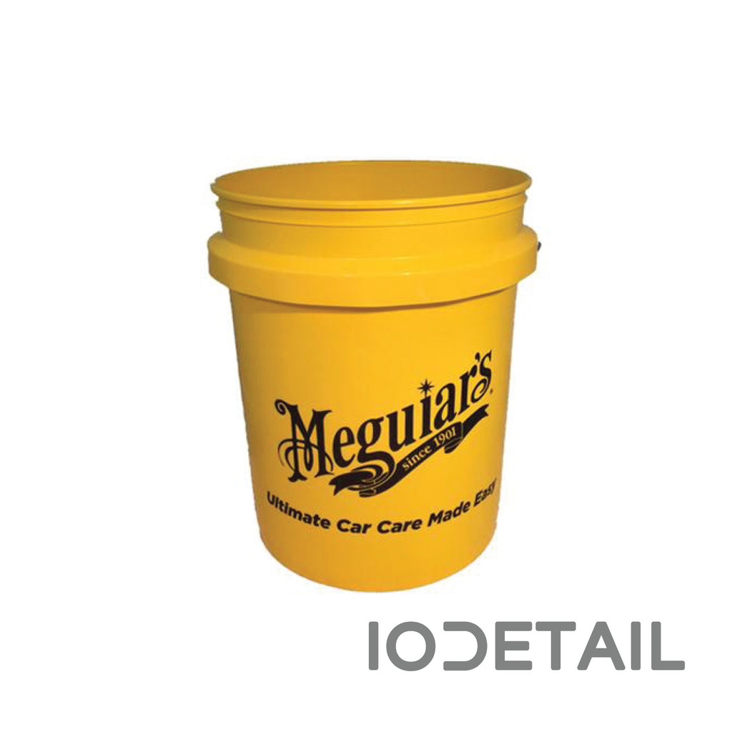 Meguiar's Yellow 5 US Gallon Bucket