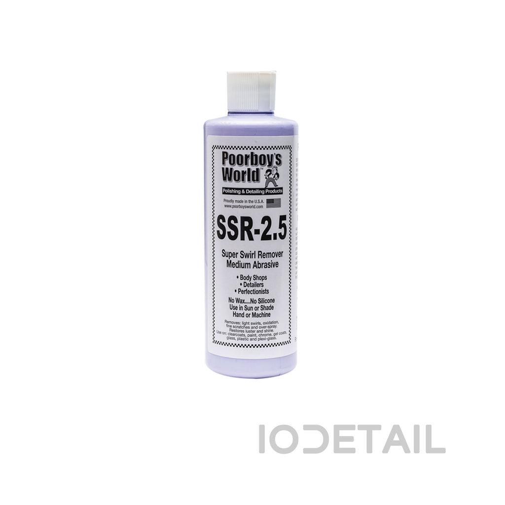 Poorboys Super Swirl Remover SSR 2.5