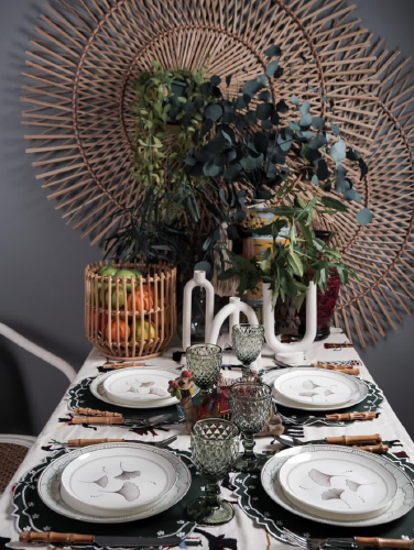 3 Not-So-Typical Holiday Tablescapes to Try At Home