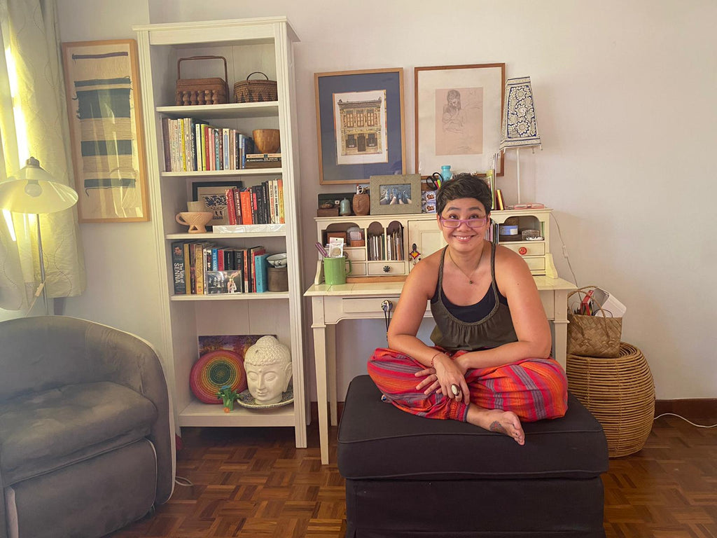 Seek The Uniq - (Stay) At Home With Kathy Ramos-Ferrer