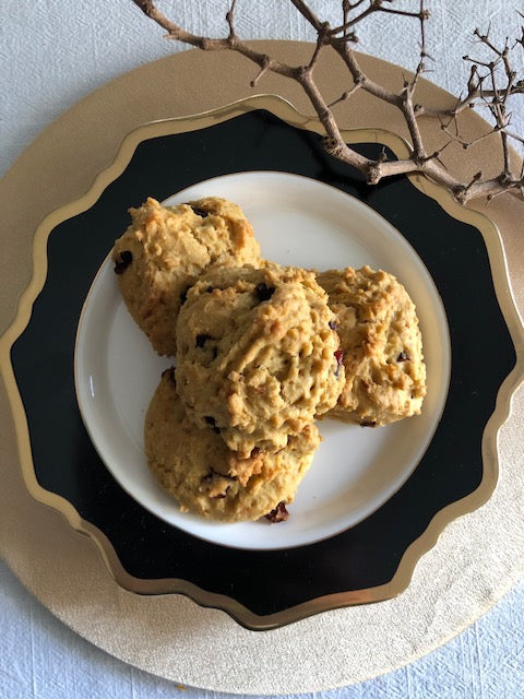 Cranberry Scones by Vanessa Ong - Seek the Uniq