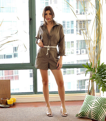 01ffa9ff22af The Velddrif Jumpsuit s neutral color would also pair well with a busy  sandal.